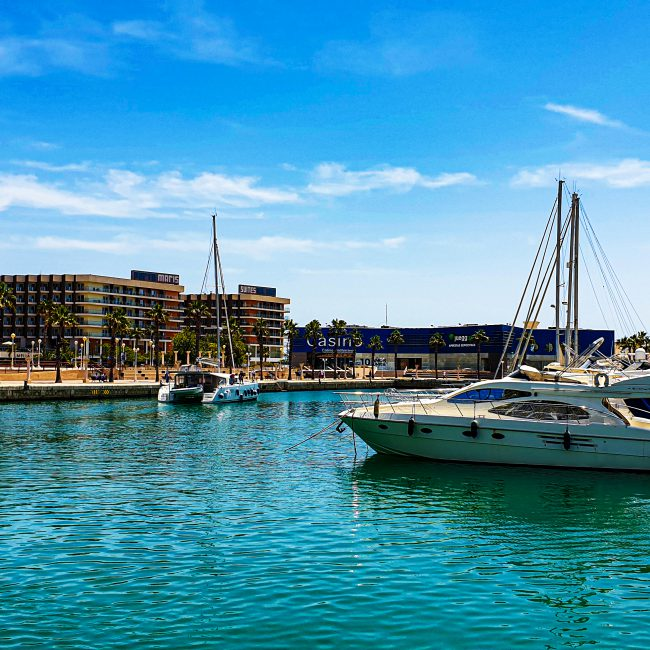 Alicante with Incoming Spain
