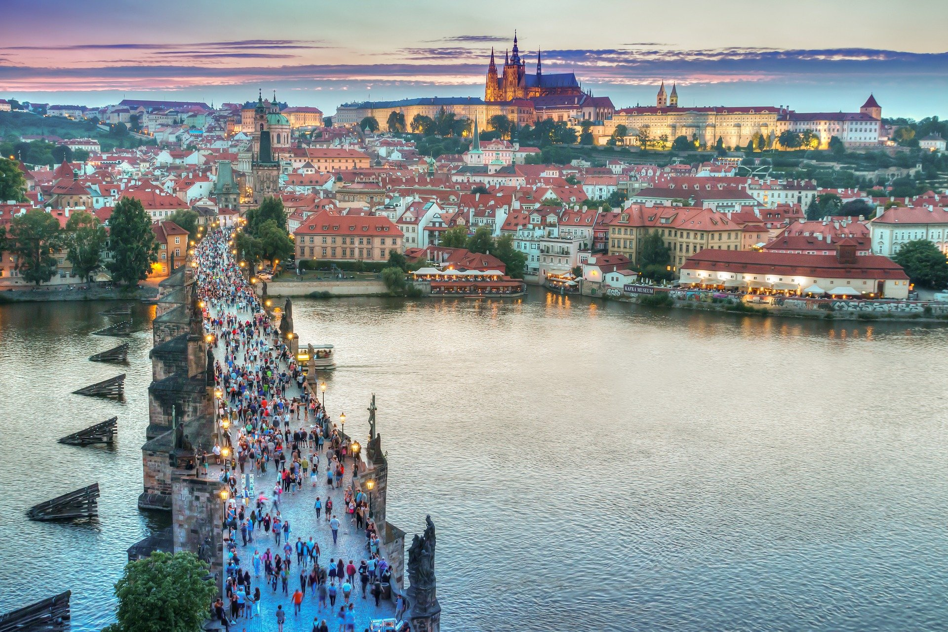 Praha with Incoming Business Group