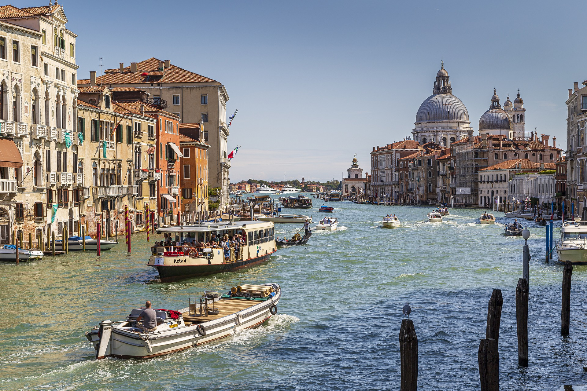 Venice with incoming Business Group