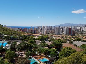 Benidorm with Incoming Spain