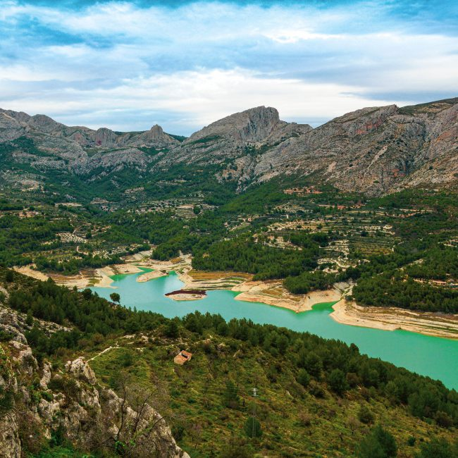 Guadalest with Incoming Spain